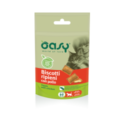Oasy Cat Biscotti Pollo 60 g