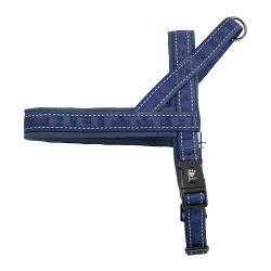 Hurtta Pettorina Casual 35-45 cm blu fiume