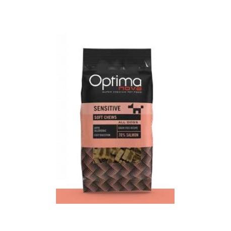 Optimanova Snack Salmon Soft Chews 150 g