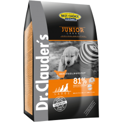 Dr.Clauder's Junior Large/Giant Br.12,5 Kg