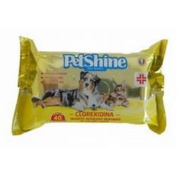 PetShine Salviette Clorexidina 40 pz