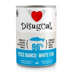 Disugual Monoproteico Pesce Bianco 400 g