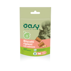 Oasy Cat Biscotti Salmone 60 g